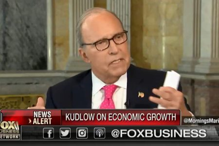 Trump's top economic adviser just made a bogus claim about a basic economic number