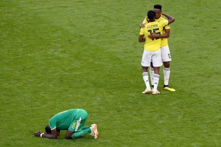 Colombia advances in joyful noise, and Senegal is eliminated by cold arithmetic