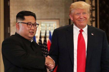 Trump-Kim summit: Trump says US will end its 'war games' with South Korea