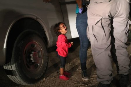 Reports have spread that shelter workers can't comfort migrant children. Rules aren't that simple.