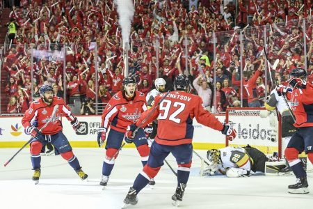 The Caps have more stars than Vegas, and they've also been more lucky