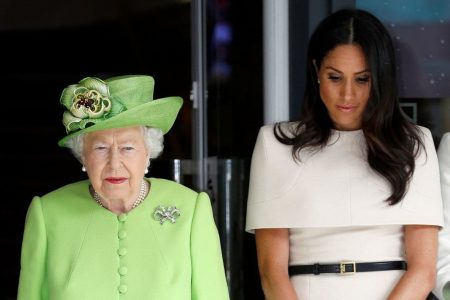 Remembering Grenfell Tower, iconic landmarks glow green as Queen and Meghan join tributes