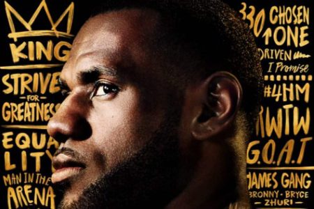 LeBron James calls himself the 'GOAT' and lacks a Cavs jersey on NBA 2K19 cover
