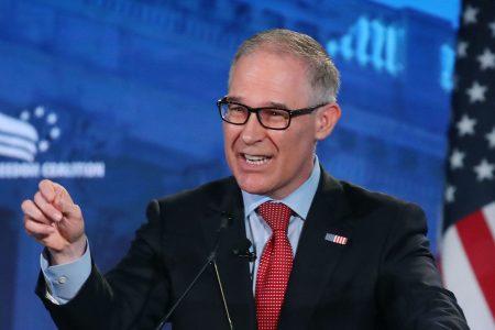 Democratic lawmakers seek criminal probe of EPA chief Scott Pruitt