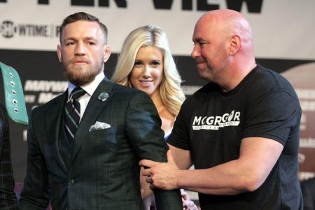 Conor McGregor expresses 'regret' Friday after court hearing; he'll meet Monday with Dana White