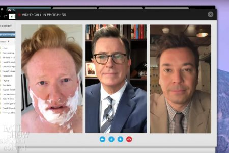 Colbert, Fallon and Conan O'Brien team up on Trump