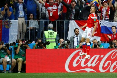 Russia vs. Saudi Arabia 2018 World Cup: Hosts in command at halftime