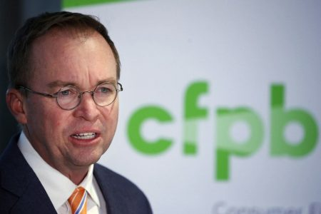 Mick Mulvaney fires all 25 members of consumer watchdog's advisory board