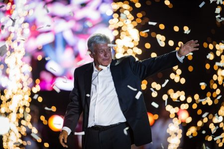 A man who goes by AMLO is the favorite to win Mexico's presidential election
