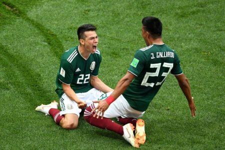 Mexico vs. South Korea 2018 World Cup: El Tri strikes first to take a 1-0 lead