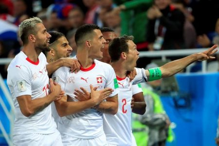 Serbia vs. Switzerland 2018 World Cup: Serbia leads at the half, 1-0