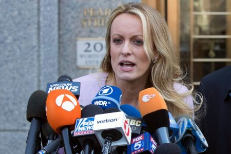 Stormy Daniels sues her former attorney, accusing him of being a 'puppet' for Trump