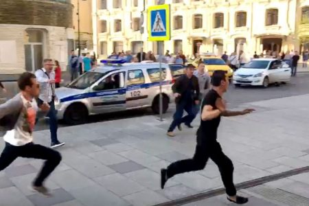 Police: Taxi driver who hit Moscow pedestrians fell asleep