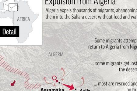 Walk or die: Algeria abandons 13000 migrants in the Sahara