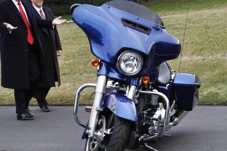 EU tariffs on US goods from Harleys to peanut butter will start Friday