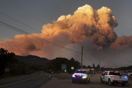 Ute Park Fire torches more than 16000 acres in New Mexico