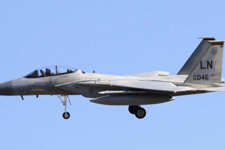 US F-15C fighter jet crashes off Japan's Okinawa