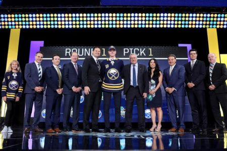 Dahlin selected No. 1 by Sabres at NHL Draft