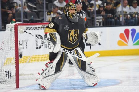 Fleury says he wants to end career with Golden Knights