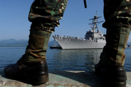 Pentagon Official Says US Can 'Take Down' Man-Made Islands Like Those in the South China Sea