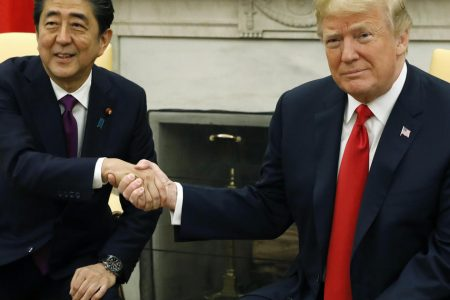 Trump and Japan's Shinzo Abe hold joint press conference — live updates