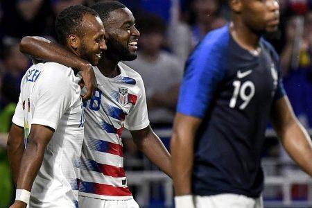 USA, France Draw 1-1 in 2018 Friendly; Julian Green, Kylian Mbappe Score