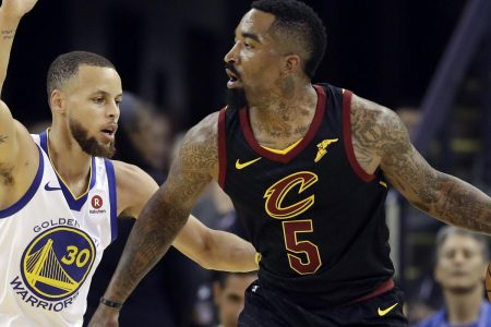 Non-LeBron Cavs Shot a Horrible 23 Percent vs. Warriors in Game 1. How?