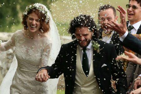 Inside 'Game of Thrones' stars Kit Harington and Rose Leslie's wedding in Scotland