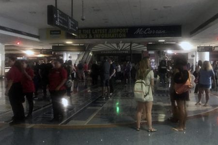 Power outages at Las Vegas airport cause delays