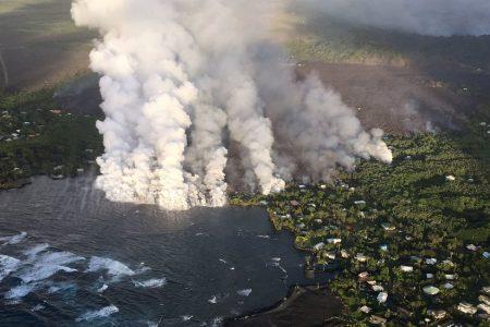 Hundreds More Hawaii Homes Destroyed as Lava Surge Fills Coastal Bay