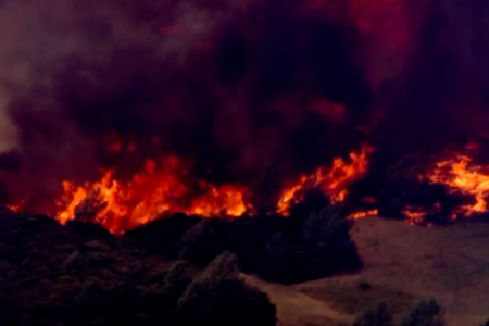 """Pawnee Fire: """"Out of control"""" fire spreads to 3000 acres"""