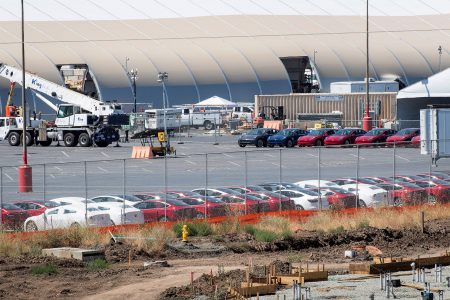 'Words Fail Me. It's Insanity.' While Elon Musk Loves Tesla's New Tent Factory, Others Aren't So Sure
