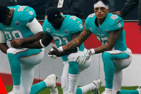 Surprise! The NFL National Anthem Problem Is Not Going Away.