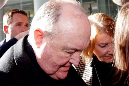 Australian Archbishop Sentenced for Cover-Up of Sexual Abuse