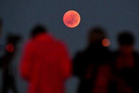 Astronaut Shoots Photos Of Blood Moon From Space