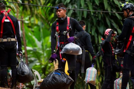 Thai Cave Rescue Will Be a Murky and Desperate Ordeal, Divers Say