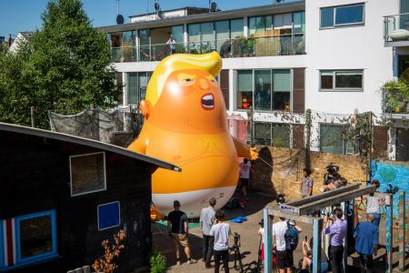 London Mayor Allows 'Trump Baby' Blimp for President's Trip to UK