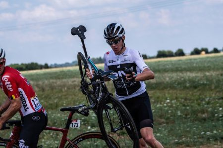 Chris Froome Begins Tour de France in a Ditch