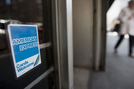 American Express drops more than 3 percent after missing on revenue