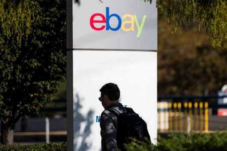 Shares of eBay head for worst day in nearly two years after weak growth, lowered revenue forecast