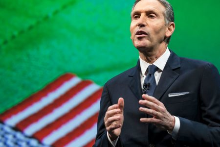Starbucks' departing chairman Howard Schultz backs China prospects and hints at a Jack Ma tie-up