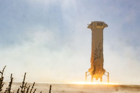 Blue Origin pushes the limits of its capsule designed for tourists in second successful launch this year
