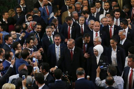 Erdogan Begins New Term and Names His Son-in-Law Finance Minister
