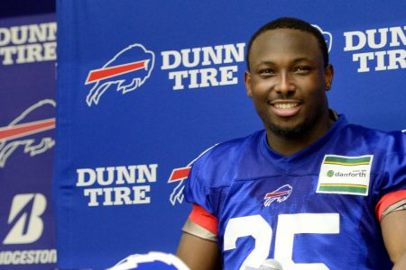 LeSean McCoy Denies Accusations That Surfaced on Social Media