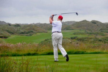 Trump's Golf Misadventure in the Scottish Dunes