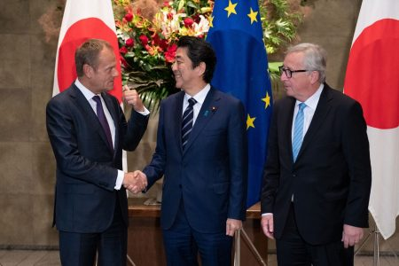 Japan, EU Draw Closer With Trade Pact as Trump Shakes Allies