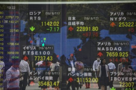 Asia Stocks Trade Mixed; Yuan Stable After Decline: Markets Wrap