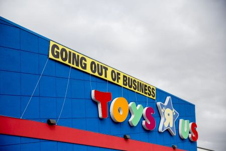 US Retail Vacancy Rate Jumps on Toys 'R' Us Store Closings