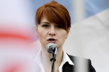 At Rockefeller Heir's Dinner, Accused Russian Butina Hobnobbed With DC Elites