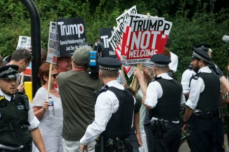 Live Updates: After Contentious NATO Summit, Trump Goes to UK